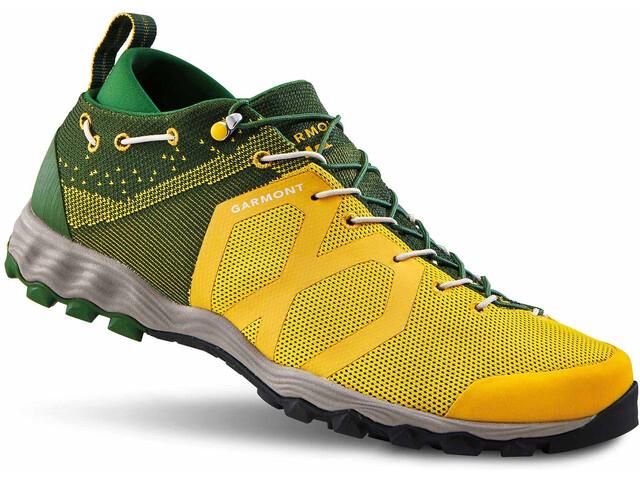 Garmont Agamura Knit Zapatillas Hombre, green/yellow